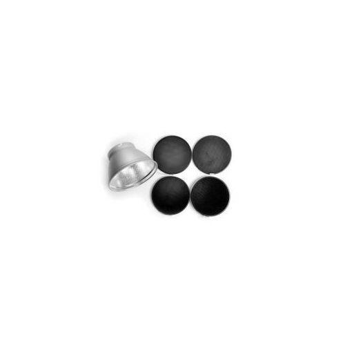 plastry miodu 30°, 20°, 12°, 8° + reflektor 21cm marki Elinchrom