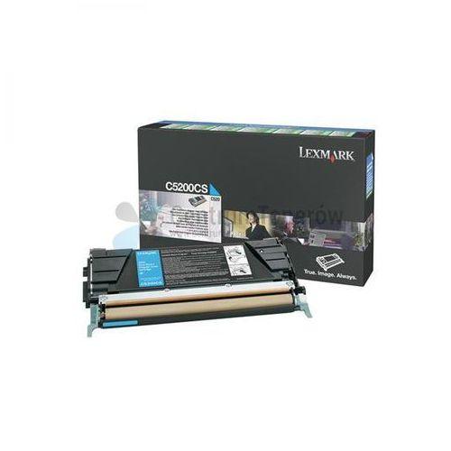 oryginalny toner c5200cs, cyan, 1500s, return, lexmark c530 marki Lexmark