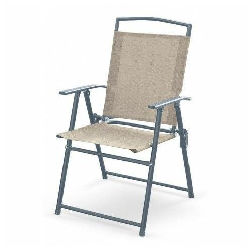 Składane krzesło ogrodowe soner - popiel marki Producent: elior