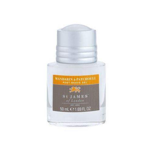 St. James Of London Mandarin & Patchouli żel po goleniu dla mężczyzn 50 ml pakiet podróżny bez krabičky + do każdego zamówienia upominek. (zestaw zapachowy męski)