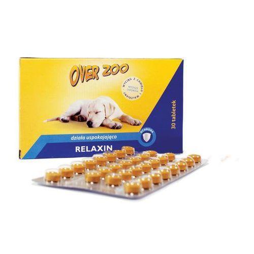 relaxin tabletki na uspokojenie dla psa lub kota 30szt. marki Over zoo