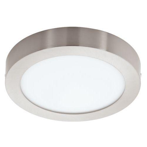 Eglo Lampa sufitowa fueva 1 okrągła 22,5 cm - nikiel satynowy promocja!, 94525