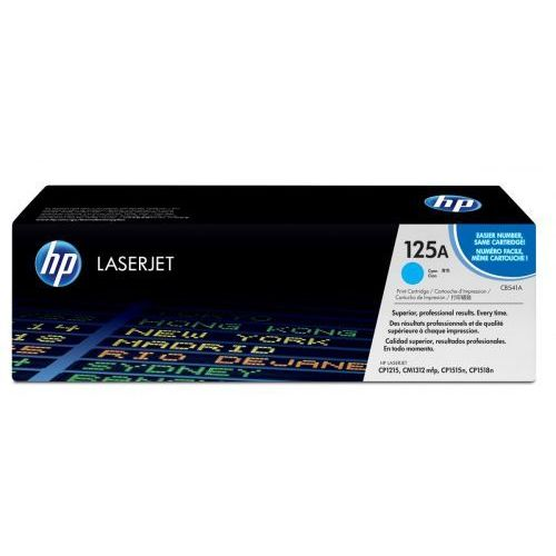 HP Inc. Toner CLJ CP1215 Błękitny (Cyjan) 1.4k CB541A, 1_107679