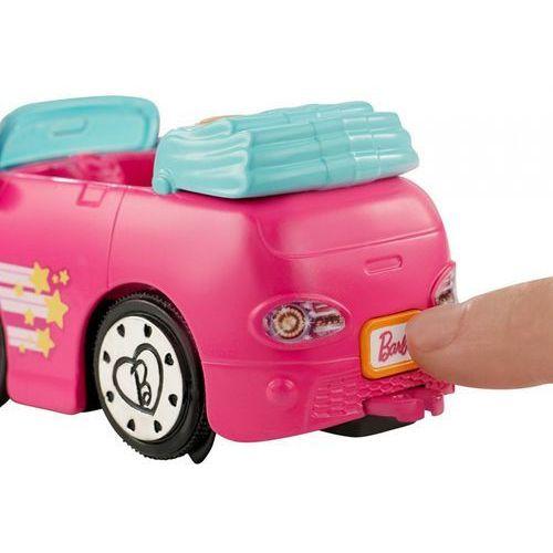 on the go różowy samochód + lalka marki Barbie