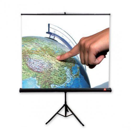 Ekran ręcznie rozwijany na trójnogu AVtek PRO 200x200cm, 1247
