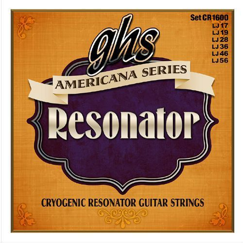 GHS Americana Series - Resonator String Set, Regular,.017-.056