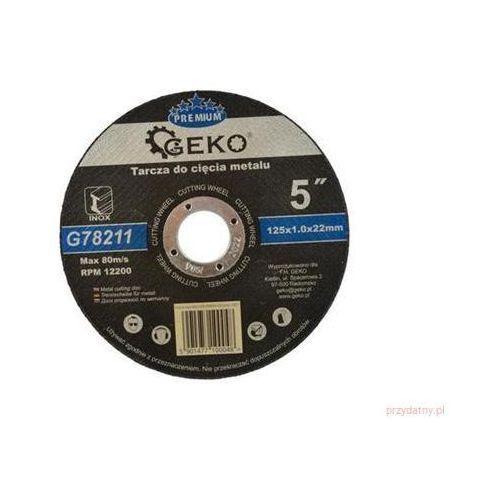 Tarcza do cięcia metalu GEKO PREMIUM 125x1.0 Inox 25/50/500