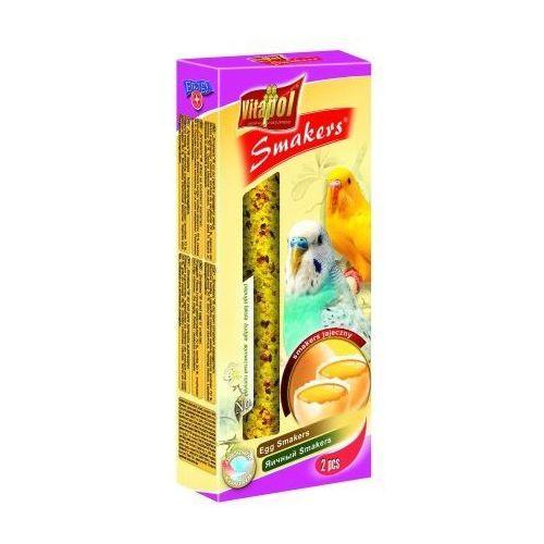 Vitapol Smakers jajeczny kolby dla papużki falistej 2szt/90g