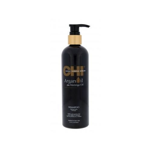 chi argan oil plus moringa oil szampon do włosów 355 ml dla kobiet marki Farouk systems
