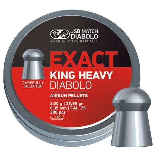 Jsb Śrut  diabolo exact king heavy 6.35mm 300szt (546398-300) (2010000138588)