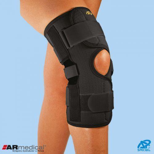 Neoprenowa orteza stawu kolanowego z regulacją kąta zgięcia – zapinana 826 marki Armedical