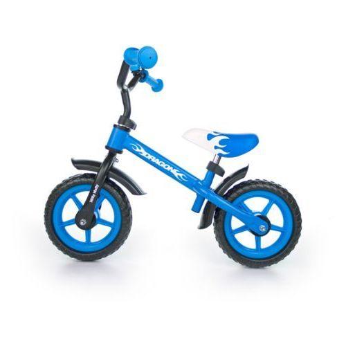 Milly-mally Rowerek biegowy dragon niebieski #b1