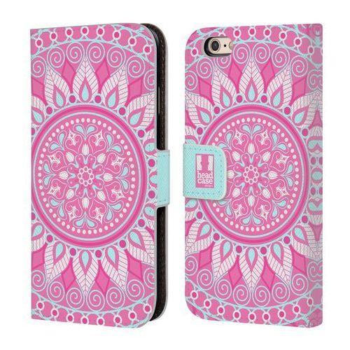 Head case Etui portfel na telefon - mandala pink parade