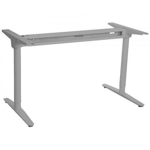 Stelaż metalowy biurka regulowany na wys. Z rozsuwaną belką WT-301, kolor aluminium