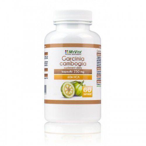 Garcinia cambogia Myvita 60 kapsułek - kapsułki tabletki na odchudzanie