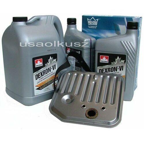Filtr oraz olej dextron-vi automatycznej skrzyni biegów dodge dakota 1998-2003 marki Petro-canada