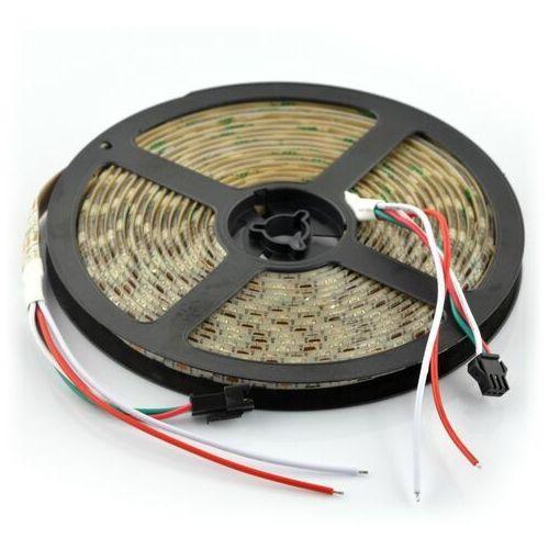 Pasek LED RGB WS2811 - cyfrowy, adresowany - IP65 48 LED/m, 12W/m, 12V - 5m