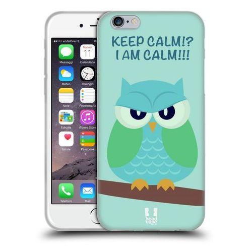 Etui silikonowe na telefon - Mean Owls GREEN WING
