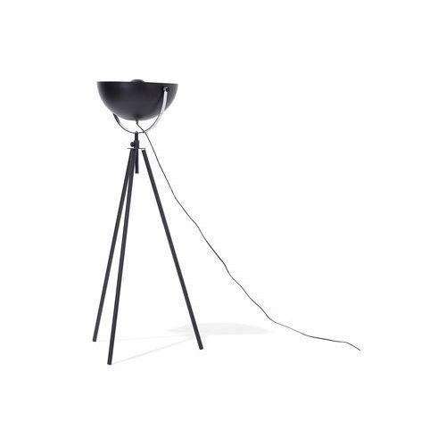 Lampa stojąca czarno-złota THAMES, kolor czarny