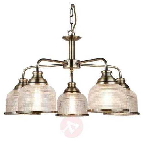 Lampa wisząca bistro ii, postarzany mosiądz marki Searchlight