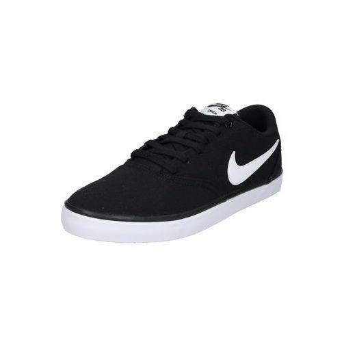 sb trampki niskie 'check solar' czarny marki Nike