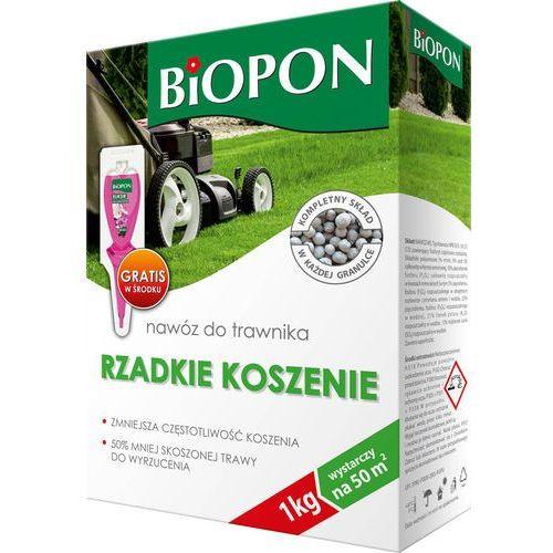 Biopon nawóz do trawnika mniej koszenia 1kg, 5904517241497