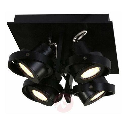 Steinhauer MEXLITE Lampa Sufitowa Czarny, 4-punktowe - Design - Obszar wewnętrzny - MEXLITE - Czas dostawy: od 10-14 dni roboczych