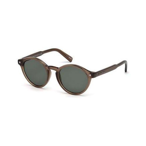 Okulary słoneczne ez0063 polarized 50r marki Ermenegildo zegna