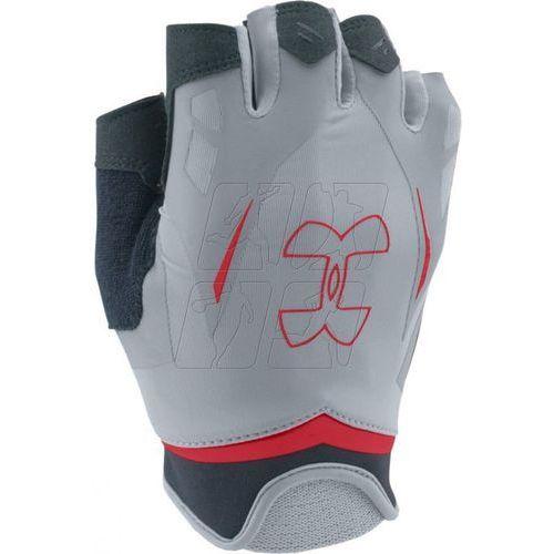 Rękawiczki treningowe Under Armour Flux Half-Finger M 1253694-036