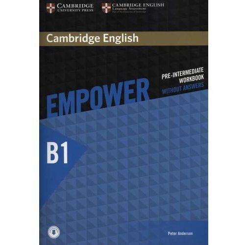 Cambridge English Empower Pre-Intermediate Workbook Without Answers with Audio, Cambridge University Press