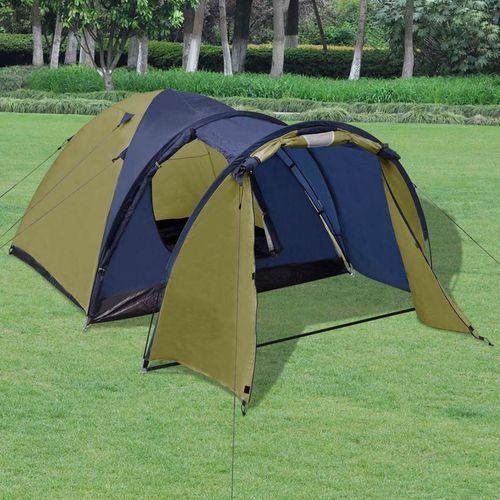 namiot 4-osobowy zielony marki Vidaxl