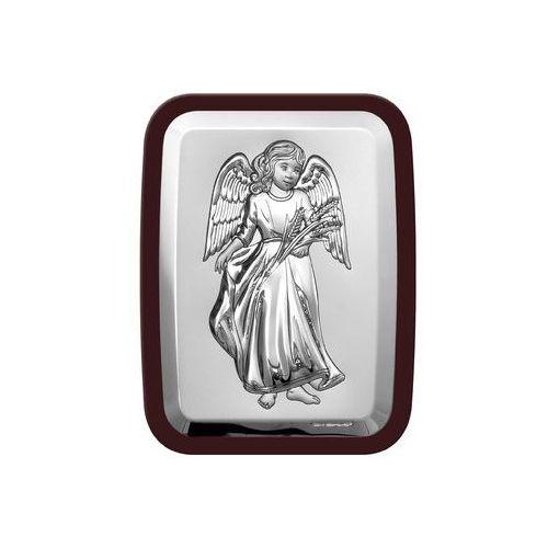 Obrazek anioł z kłosami zboża w ciemnej oprawie - (bc#6453wm), marki Beltrami