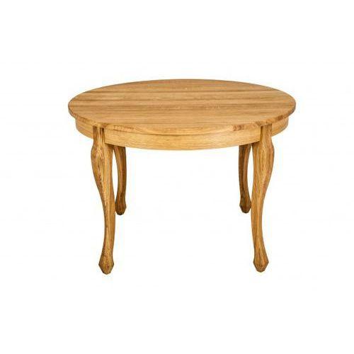 design stół dębowy okrągły rozkładany luna romantic marki Signu