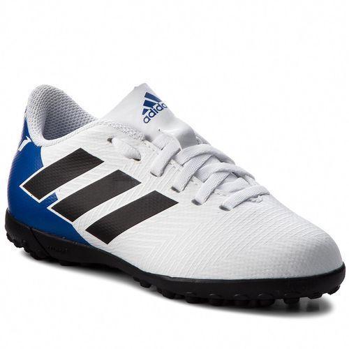 Adidas Buty - nemeziz messi tango 18.4 t db2401 ftwwht/cblack/fooblu