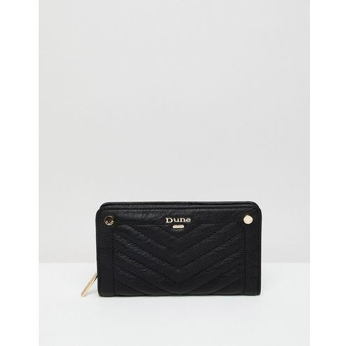 Dune quilted purse - black