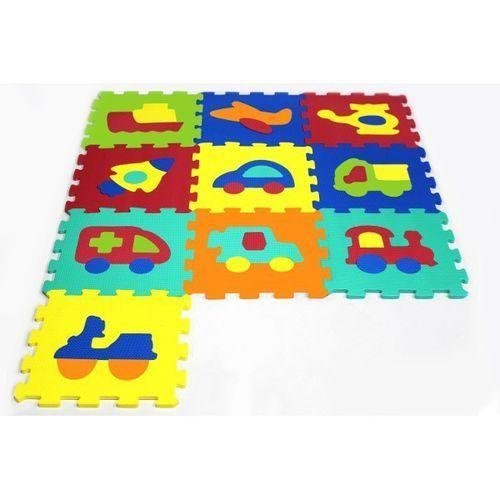 Artyk 10 elementów Puzzle piankowe Pojazdy, 1_536444