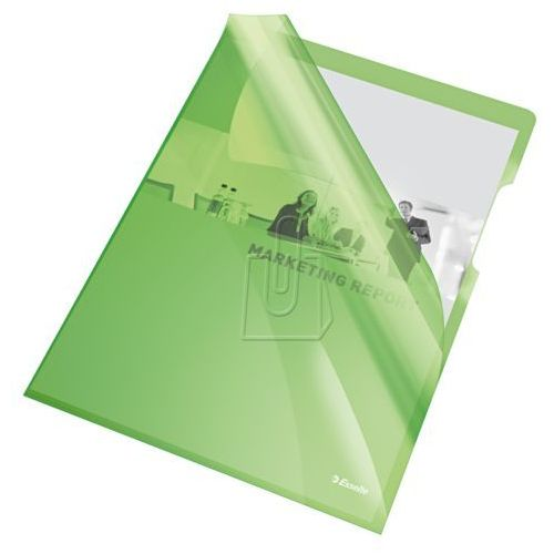 Esselte Ofertówka krystaliczna l 55436 a4/25szt.,150mic. zielona (5902812554366)
