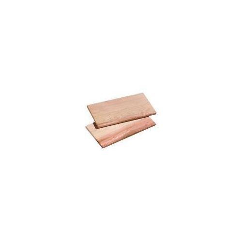 smoky cedrowe deski 2 szt. 35x17,5 cm marki Küchenprofi
