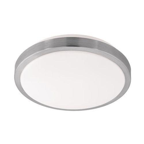 Eglo Plafon competa 1 96033 lampa oprawa sufitowa 1x22w led biały nikiel