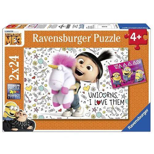 Ravensburger puzzle agnes&die minionki (4005556078110)