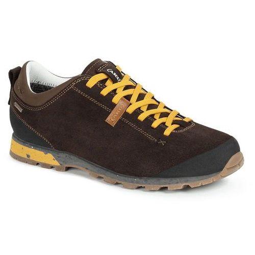 Aku buty męskie bellamont suede gtx dark brown-yellow 10,5 (45)