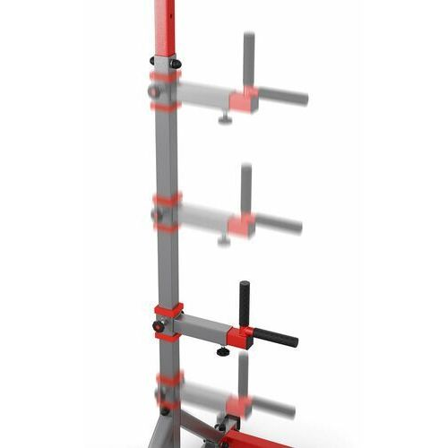 K-sport Drążek treningowy do podciągania stacjonarny do ćwiczeń+poręcz kssl060/dip (5907618100359)