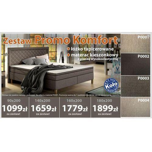 Łóżko kontynentalne Promo Komfort