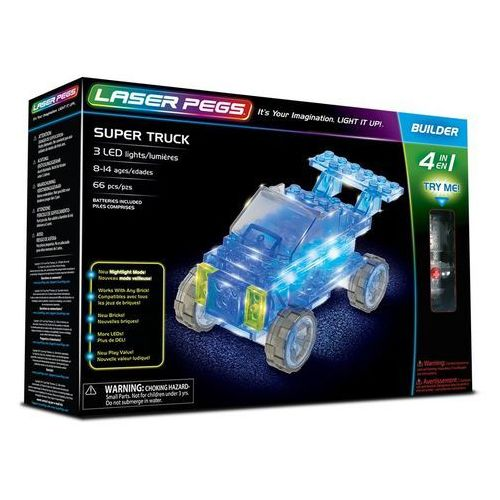 4 in 1 Super Truck - Laser Pegs