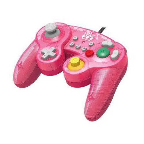 Kontroler HORI Smach Bros Gamepad Peach do Nintendo Switch (0873124007343)