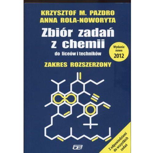 Zbiór zadań z chemii do liceów i techników zakres rozszerzony (2012)