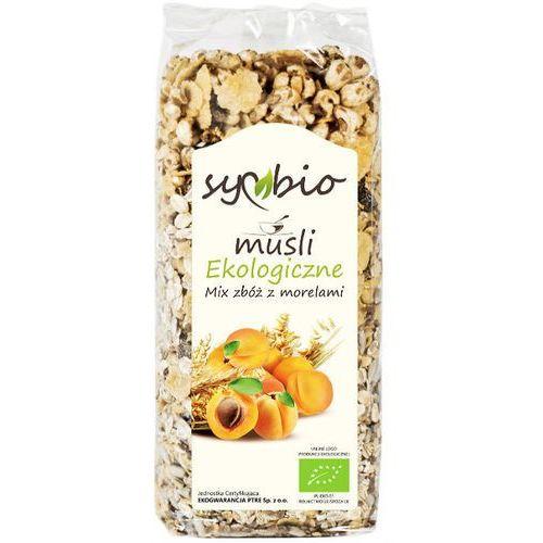 Musli mix zbóż z morelami bio 300g - Symbio (5903874562573)