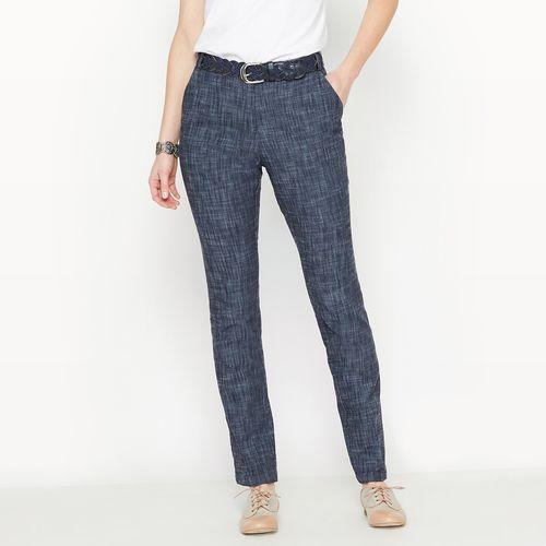 Proste jeansy, denim stretch