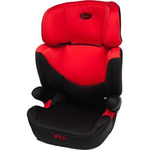 4BABY Vito XV (15-36kg) Fotelik – Czerwony z kategorii Foteliki grupa II i III
