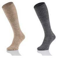 Podkolanówki natural wool 1139 męskie 41-43, czarny/nero, tak, Tak